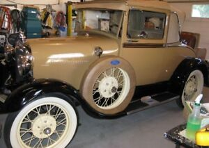 1929 Model A Ford Sports Coupe