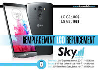 Reparation LCD Nexus 4/5/6   LG G2/G3
