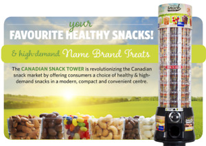 Canadian Snack Tower Machines (32 Machines + Route Included)