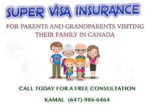 FREE SUPER VISA QUOTE BRAMPTON