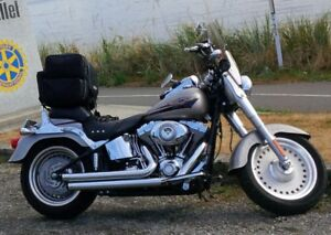2007 Harley Davidson Fatboy 17,884kms excellent condition