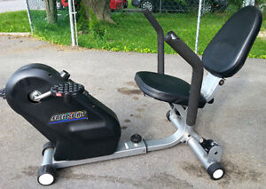 Free Spirit Recumbent Exercise Bike Adjustable