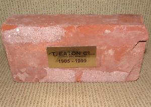 The T. Eaton Company Ltd. Brick from Portage Ave. Winnipeg