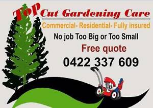 Top Cut Gardening Care Marangaroo Wanneroo Area Preview