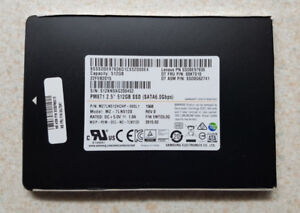 512GB Samsung SSD - Solid State Drive