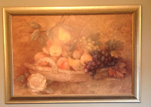 Beautiful Fruit basket painting/picture