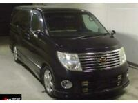 2007 Nissan Elgrand Highway star full leather 3.5 Petrol Automatic