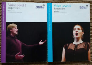 The Royal Conservatory - Vocal Books with CDs