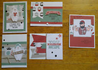 Masculine card workshop including Father's Day