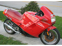 wanted ducati paso 750 906 907 parts or complete bike for parts.