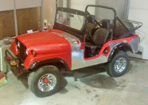 1955 Jeep CJ5 - M38A1 CALLS ONLY