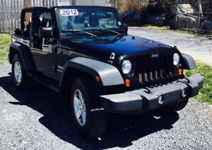 2012 Jeep Wrangler Sport ONLY $15995 Mint Condition 902-210-0835