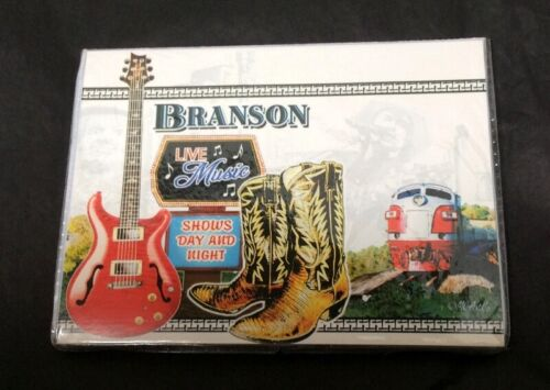 Photo Picture Booklet BRANSON, MO Souvenir Holds 36 Photos Frame the Fun you had