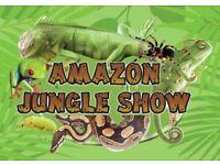 AMAZON JUNGLE SHOW. Kids parties. Kids birthdays
