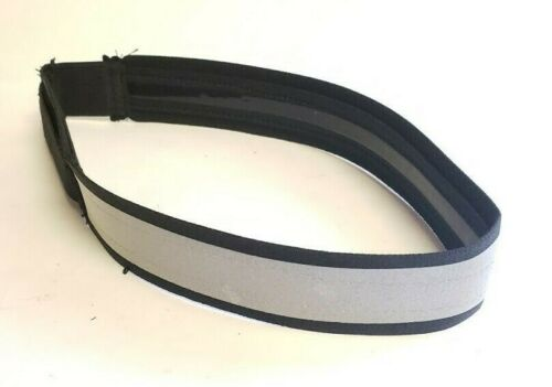 Heavy Duty Reflective Hard Hat Band w/ Holder