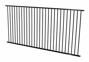 Black Garden Fence Panel 2400 x 1100 - $55 ea (10 Year Warranty) Crestmead Logan Area Preview
