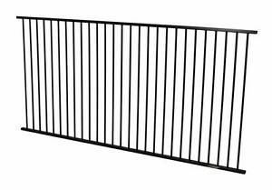 Black Garden Fence Panel 2400 x 1100 - $55 ea (10 Year Warranty). Brendale Pine Rivers Area Preview