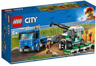 NEU & OVP LEGO® CITY 60223 Transporter für Mähdrescher Bauer und LKW Fahrer