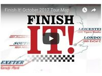 Finish It! Tour For business owners who want more out of their business