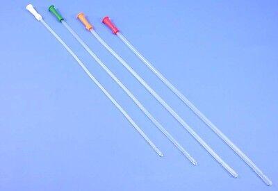 100 Einmalkatheter, Nelaton-Katheter, Blasenkatheter, 40cm / Ø 4- 6mm CH12- CH18