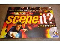 Dr Who 'Scene It' board game