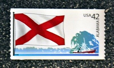 2008USA 4274 42C ALABAMA STATE FLAG - FLAGS OF OUR NATION  MINT NH  FLAG