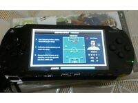 Psp complete with1 game 1 dvd 32 mb memory card charger and cover