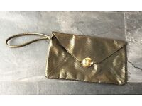 F&F clutch bag used once like new can post