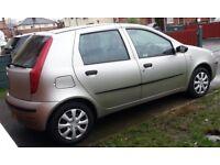 Fiat Punto Active 8v, 1.2 engine, 5 door, 2004 plate - £500 ovno