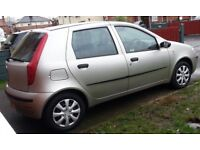 Fiat Punto Active 8v, 1.2 engine, 5 door, 2004 plate, 12 month MOT - £595 ovno