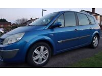 Renault Grand Scenic 2005 7 seater Petrol 1.6 MPV with MOT Spares or Repairs **Read Listing**