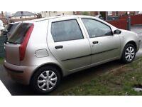 Fiat Punto Active 8v, 1.2 engine, 5 door, 2004 plate, 12 month MOT - £350