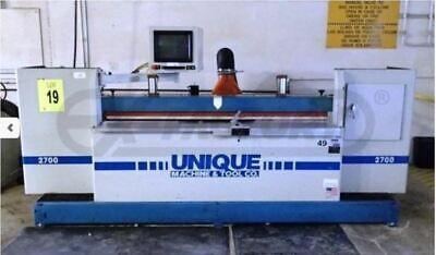 Unique 2700 Cnc Automatic Door Shaper Woodworking Machinery