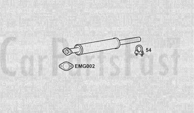 11//06-03//14 Direct Fit Rear Exhaust Silencer Back Box for Volvo C30 2.0
