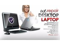 Computer Laptop iMac Macbook repair service. We service any Windows OS and Mac OS Operating Systems!