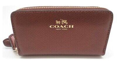 Coach Purse/wristlet Cherry Leather