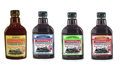 - Mississippi BBQ Sauce: Original,Mild,Spicy,APPLE