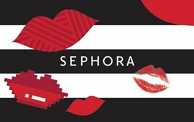 Sephora Gift Card - $25 $50 or $100 - Fast Email delivery