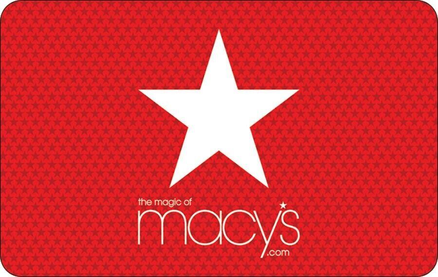 Macy s 50 Gift Card - $50.50