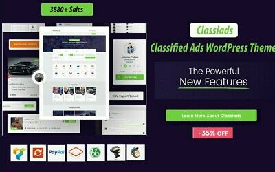 1 Time Offer Classiads - Classified Ads Wordpress Theme