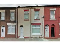 34 Rector Road Anfield. 3 bedroom terrace with GCH & DG. Bathroom with corner bath. LHA welcome.