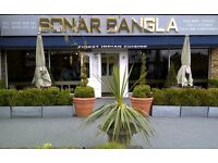 Second Chef/Waiter/Bar Waitress/Delivery driver needed URGENTLY for indian restaurant