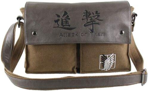 Attack on Titan Anime Cosplay Shoulder Crossbody Messenger Bag