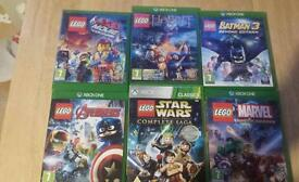 Xbox one lego pack games 6games