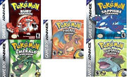5 Pokemon GBA Games
