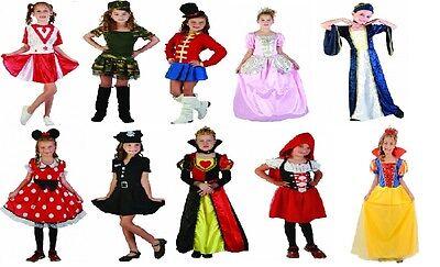 Girls World Book Day Fancy Dress Costumes Kids Party Role Play Disney School Fun