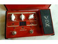Vox stompbox 11b bass effects unit