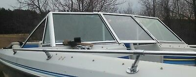 COMPLETE WINDSHIELD FROM  1988 FORESTER 171 SPORT OPEN BOW BOAT PARTING OUT
