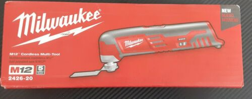 Milwaukee 2426-20 12V Cordless M12 Multi-Tool