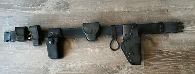 Bianchi International Black Tactical Police Belt Itw Nexus Nx-1 Plus6 Attachmnt